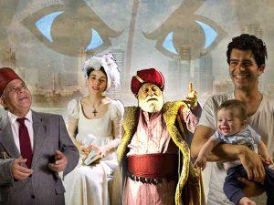 דמויות ושחקנים ביפו העתיקה