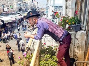 סיור עם שוקי היידו בשוק מחנה יהודה