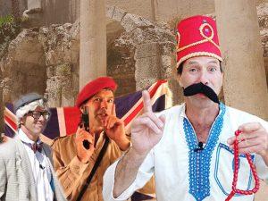 מוטל והכותל - סיור עם שחקן בירושלים