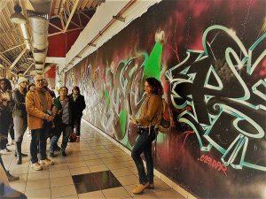 סיור גרפיטי בתחנה המרכזית תל אביב